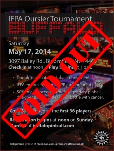 Oursler Tournament SOLD OUT