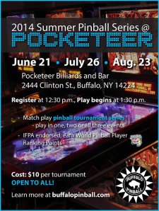 Pocketeer Summer Series 2014
