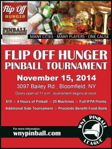 Flip Off Hunger Flyer