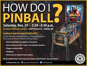 How do I pinball flyer