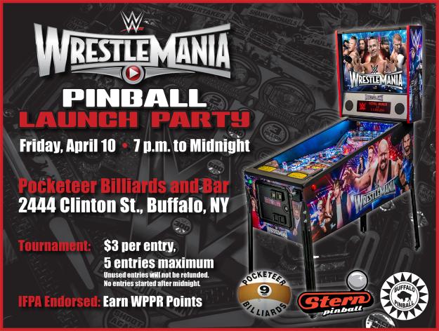 WWE Launch Flyer