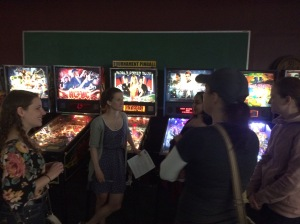 Buffalo Pinball Ladies League night #1