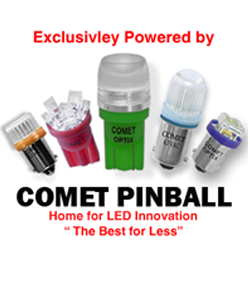 Comet Pinball Ad