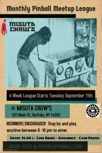 Misuta Chow's League Poster