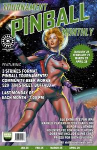 Tournament Pinball Monthly